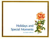 Holidays and Special Moments